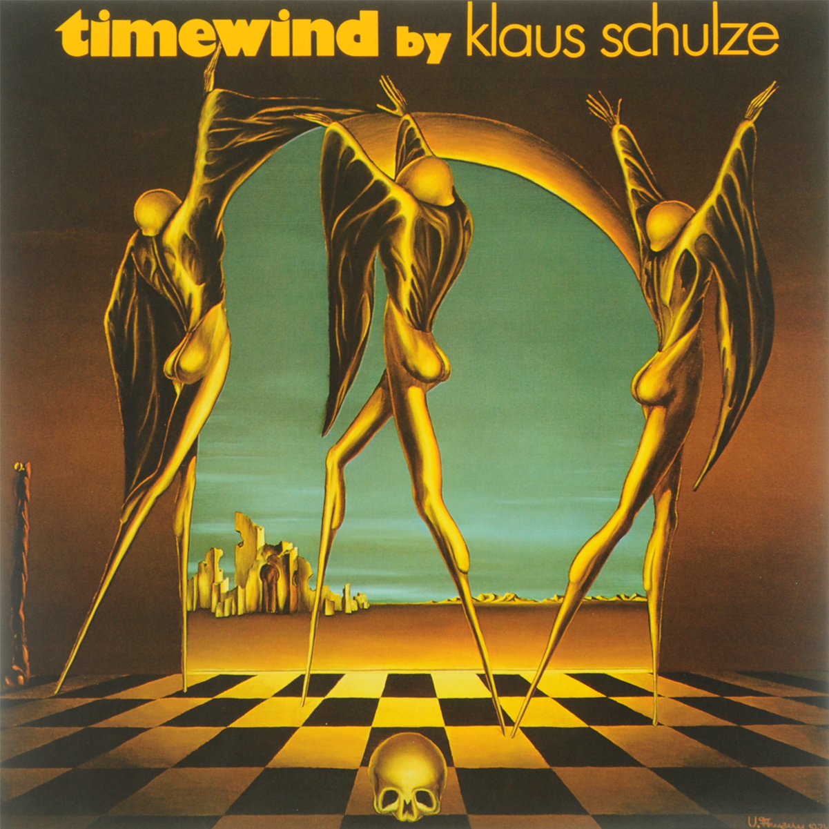 Клаус Шульце Klaus Schulze. Timewind (LP) клаус иоганн гробе klaus johann grobe spagat der liebe