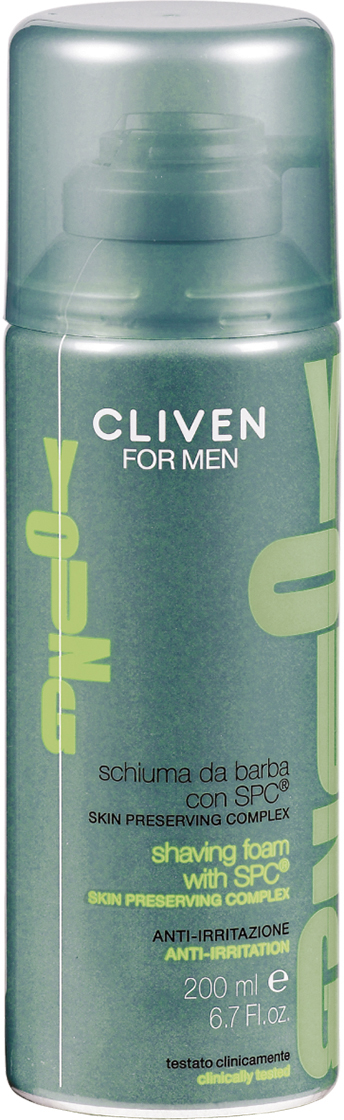 Cliven Young Пена для бритья 200мл виши ом набор пена для бритья 200мл дезодорант 72ч шампунь тонизирующий 200мл