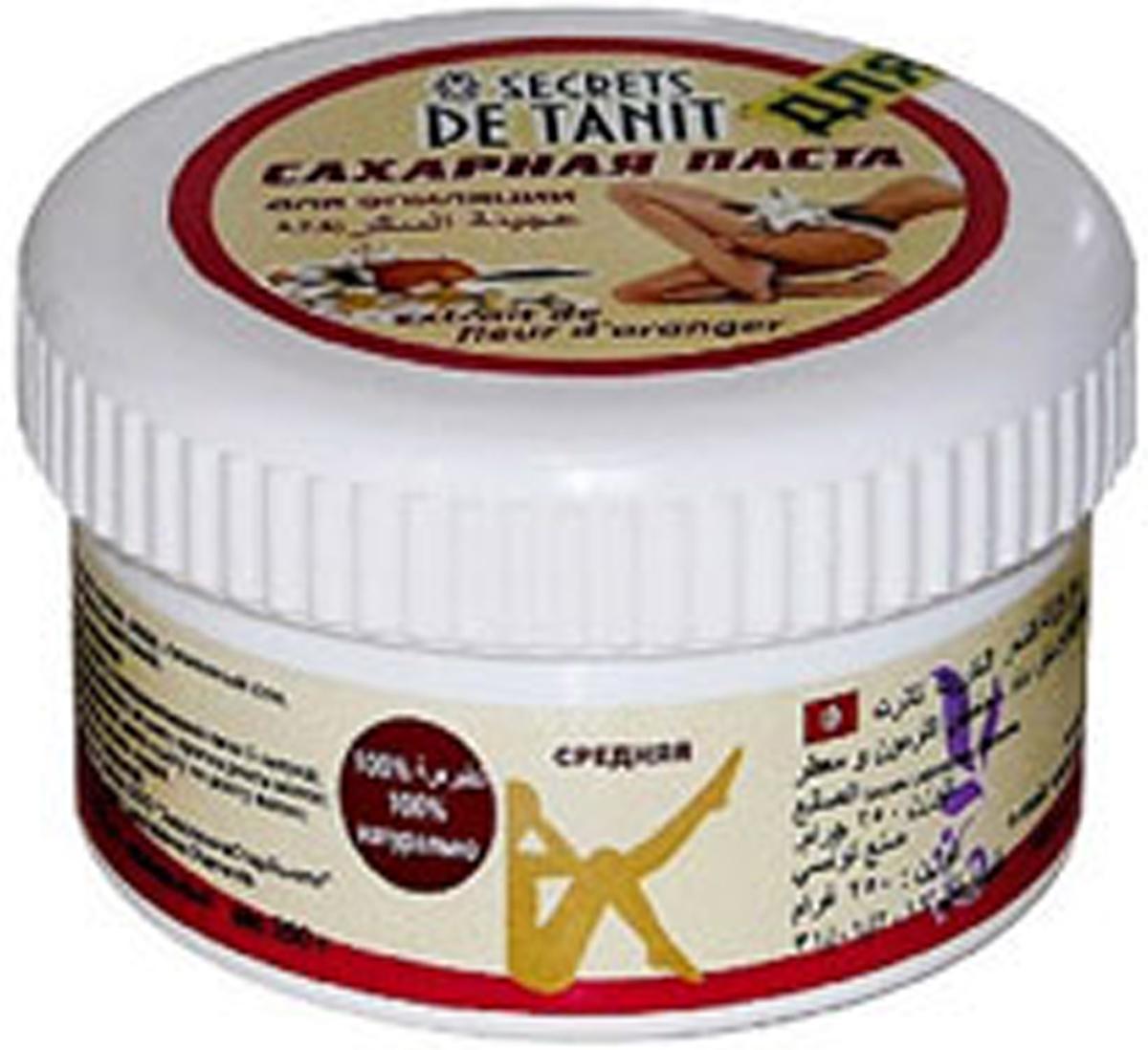 Secrets de Tanit Сахарная паста для эпиляции с экстрактом цветков апельсина, 250 г