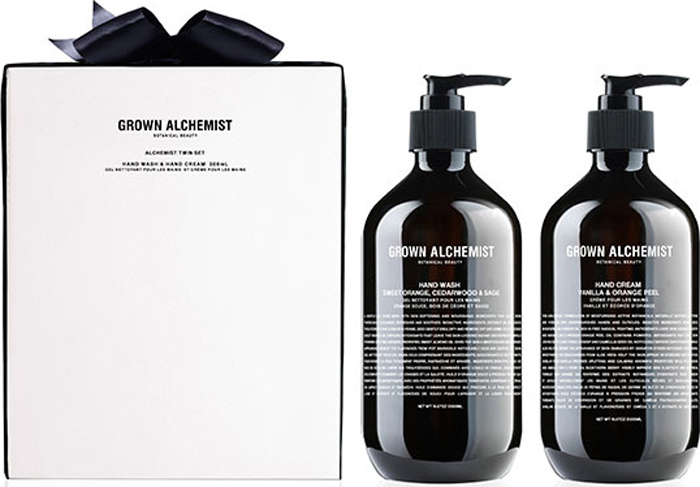 Grown Alchemist Набор для рук (жидкое мыло 500 мл, крем для рук 500 мл) цены