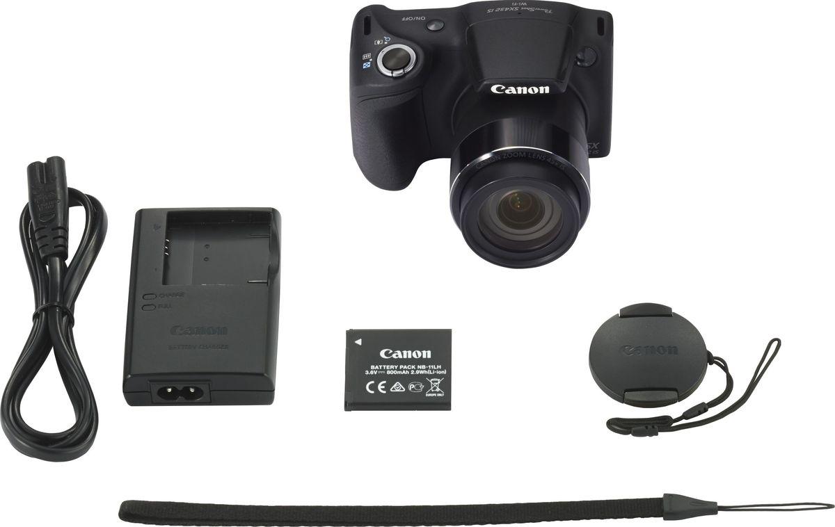 Компактный фотоаппарат Canon PowerShot SX430 IS, Black Canon