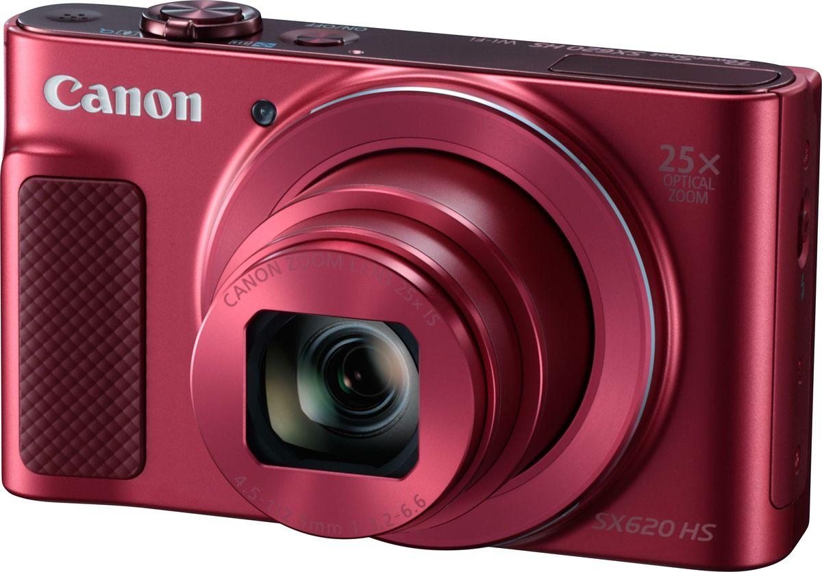 Компактный фотоаппарат Canon PowerShot SX620 HS, Red