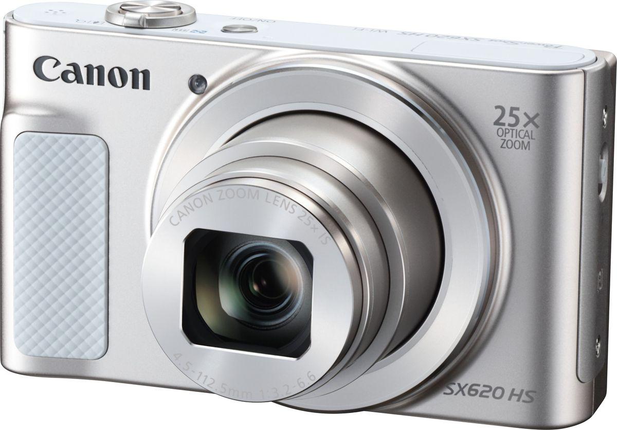 Компактный фотоаппарат Canon PowerShot SX620 HS, White