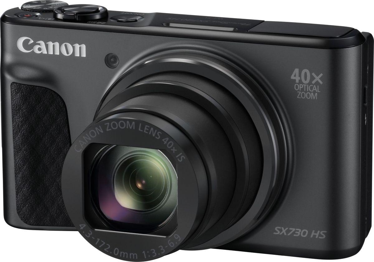 Фото - Компактный фотоаппарат Canon PowerShot SX730 HS, Black видео