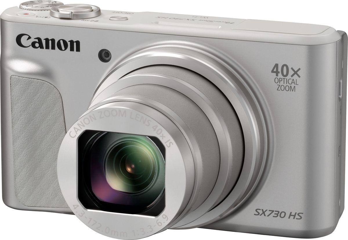 Компактный фотоаппарат Canon PowerShot SX730 HS, Silver