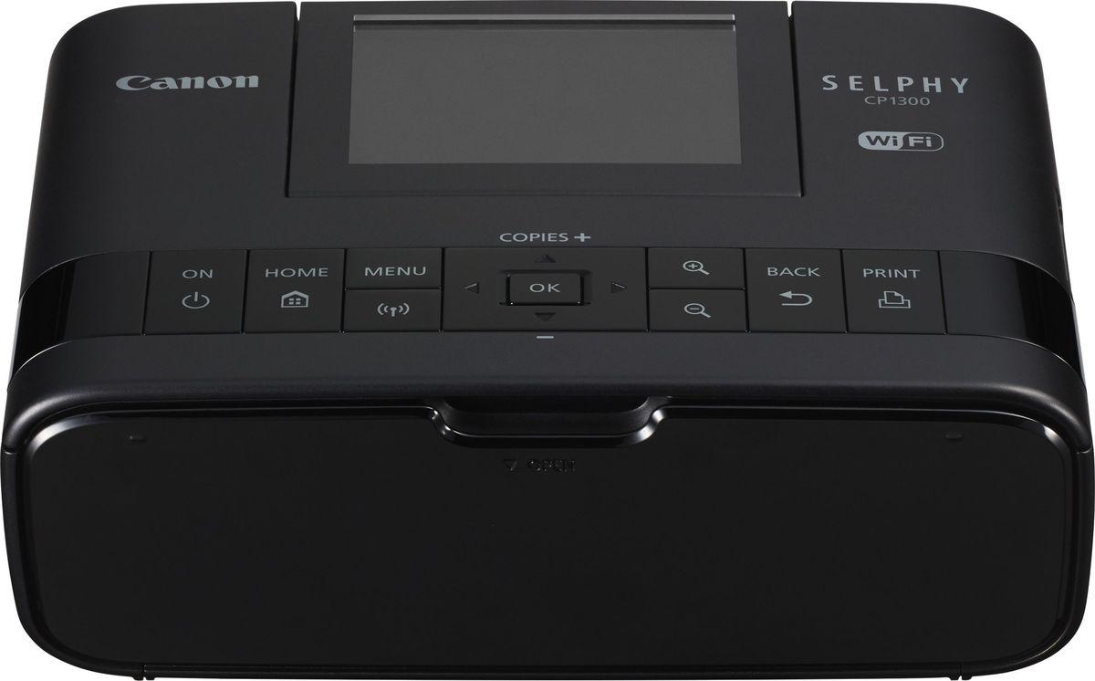 Сублимационный фотопринтер Canon Selphy CP1300, Black цена и фото