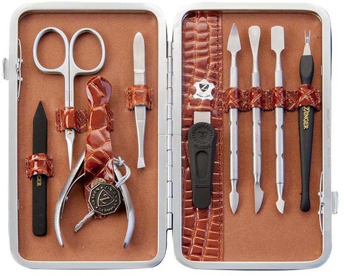 Zinger Маникюрный набор профессиональный (9 предметов) zMSFE 101-SM