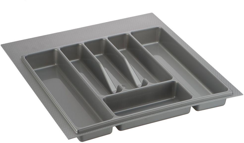 Лоток для столовых приборов Lemax, цвет: серый, 49 х 47 х 4,5 см цена