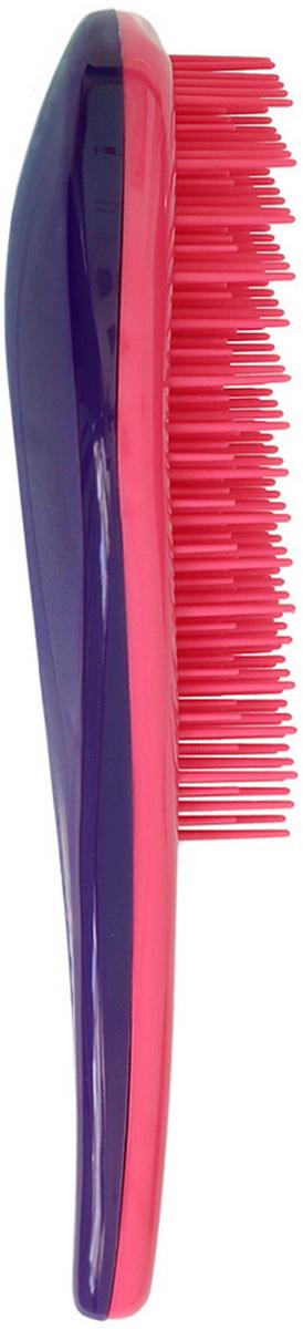 Щетка для волос для распутывания волос Detangler розовый/фиолетовый щетка ecohair detangler
