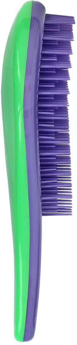 Щетка для волос для распутывания волос Detangler фиолетовый/зеленый