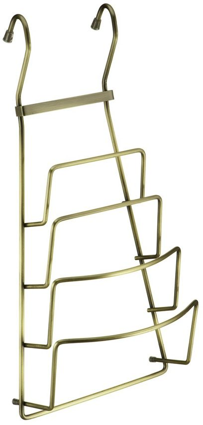 Полка для крышек Lemax, навесная, на рейлинг, цвет: бронза, 21,5 х 11,5 х 42 см полка навесная tescoma monti 45 х 19 х 27 см