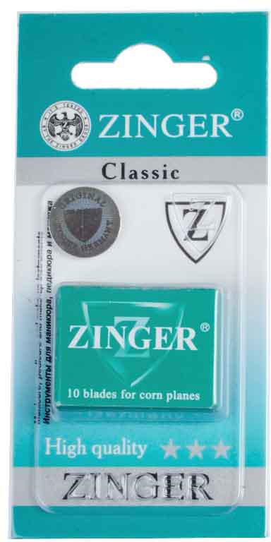 Zinger Лезвия для экстрактора zo-BLADES-10-1, 10 штук zinger точилка двойная zo sh 21