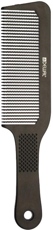 Dewal Расческа для стрижки под машинку, цвет: черный, 22 см недорого
