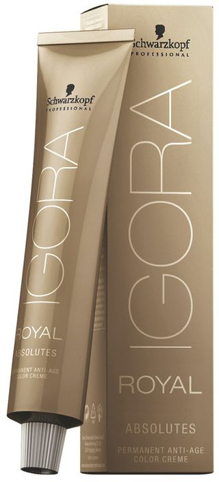 Igora Royal Краска для волос Absolute 9-60 блондин шоколадный натуральный 60 мл igora royal краска для волос 12 19 специальный блондин сандрэ фиолетовый 60 мл