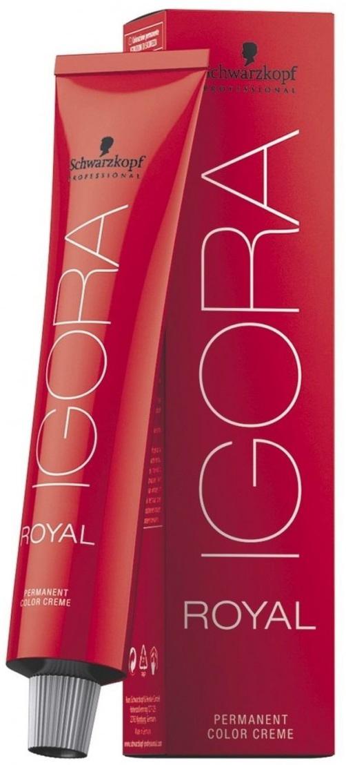 Igora Royal Краска для волос 7-77 средне-русый медный экстра 60 мл недорого