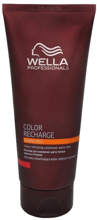 Wella Color Recharge Бальзам для освежения цвета теплых красных оттенков 200 мл