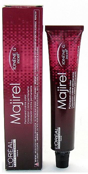 LOreal Professionnel Стойкая крем-краска для волос Majirel, оттенок 6.1 Темный блондин пепельный, 50 мл