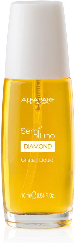 Alfaparf Масло для посеченных кончиков волос, придающее блеск Semi Di Lino Diamond Cristalli Liquidi 50 мл недорого