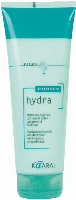 Kaaral Увлажняющий кондиционер для сухих волос Purify Hydra Conditioner, 250 мл