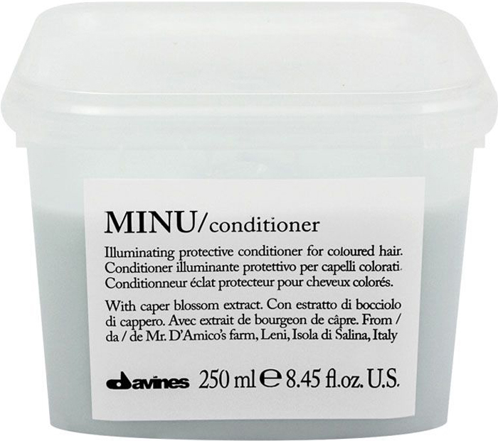Davines Защитный кондиционер для сохранения косметического цвета волос Essential Haircare Minu Conditioner, 250 мл how to stop your relatives from driving you crazy