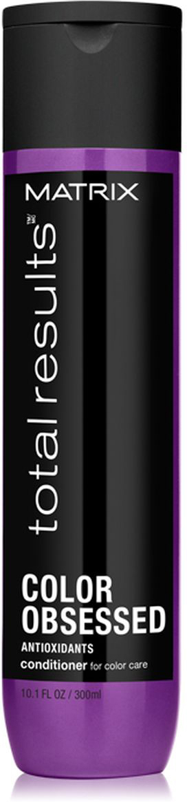 Matrix Total Results Color Obsessed Кондиционер для окрашенных волос с антиоксидантами, 300 мл цена