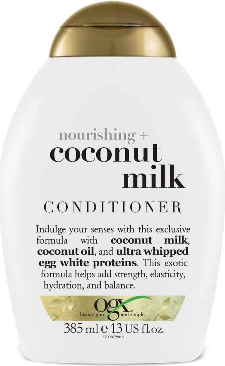 OGX Питательный кондиционер с кокосовым молоком, 385 мл кондиционер ogx аргановое масло марокко 385мл восстанавливающий