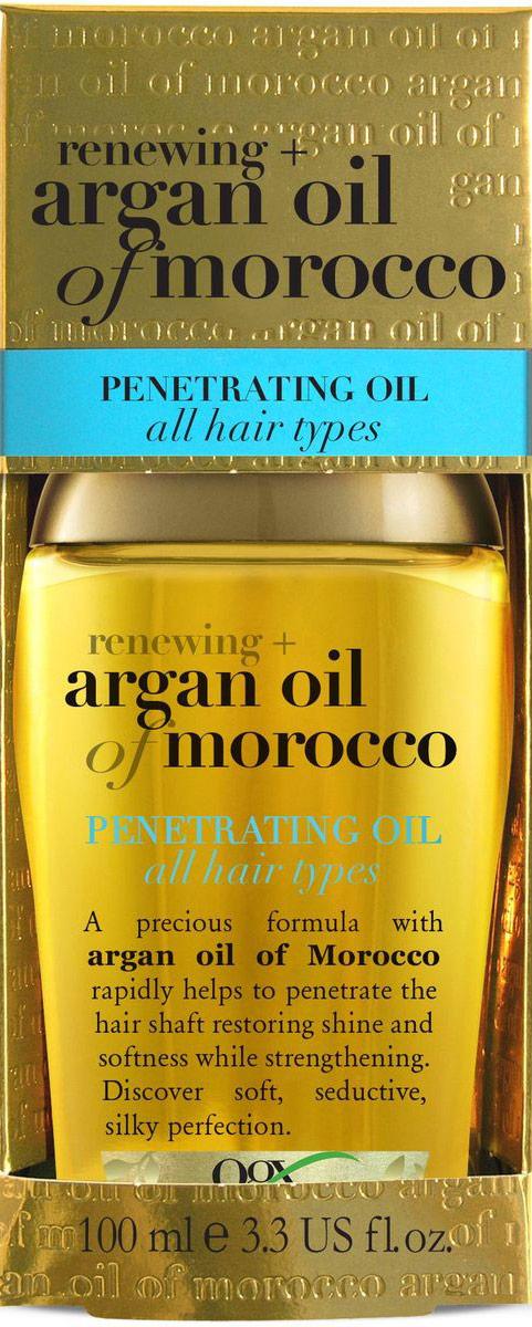 OGX Аргановое масло для восстановления волос, 100 мл. кондиционер ogx аргановое масло марокко 385мл восстанавливающий