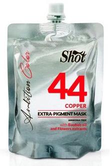 Shot Ambition Colour Extra Pigment Mask Copper - Тонирующая маска экстра пигмент 44, медный 200 мл