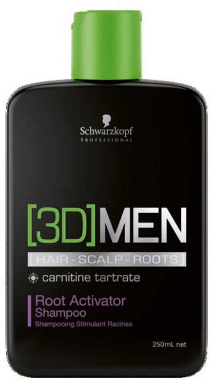 [3D]Men Шампунь активатор роста волос – очищение Root Activator Shampoo 250 мл