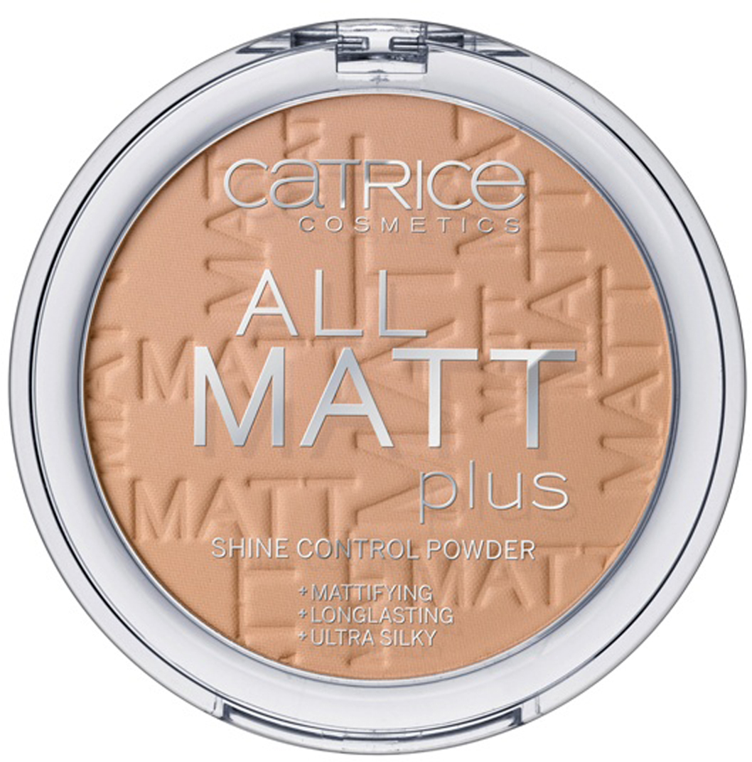 CATRICE Пудра компактная All Matt Plus Shine Control Powder 030 Warm Beige темно-бежевый, 10гр