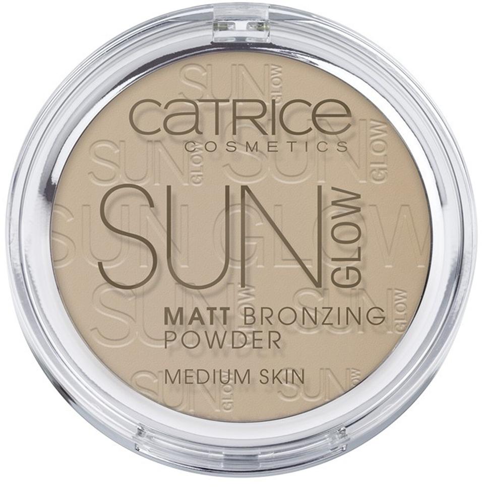 CATRICE Пудра компактная с эффектом загара матирующая Sun Glow Matt Bronzing Powder 030 бежевый, 9,5гр бронзирующая пудра sun glow matt bronzing powder catrice лицо