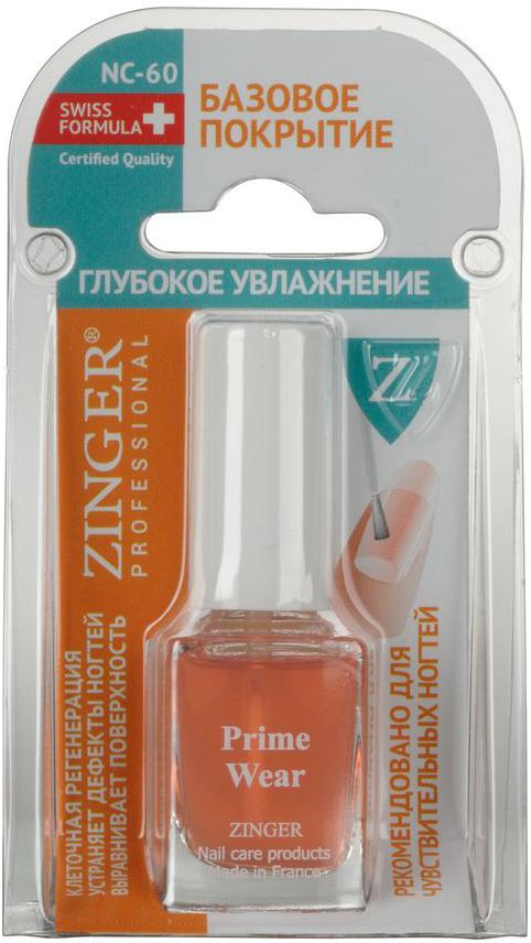 """Zinger Базовое покрытие """"Глубокое увлажнение"""" NC60, 12 мл"""