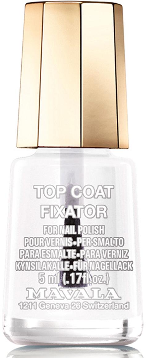 Mavala Фиксатор лака/Top Coat 5 мл фиксатор лака mavala top coat gel finish гель финиш 10 мл