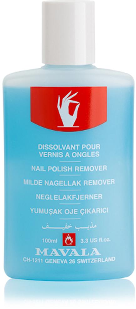 Mavala Жидкость для снятия лака Голубая Blue 100 мл dr nail жидкость для снятия лака кальций лимонное масло 65 мл