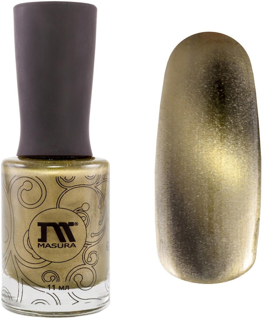 Masura Лак для ногтей Золотой авантюрин, 11 мл masura лак для ногтей the walking red 11 мл