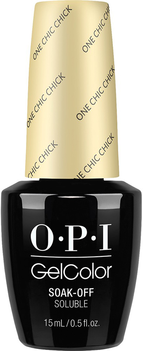 OPI Гель-лак GelColor One Chic Chick, 15 мл