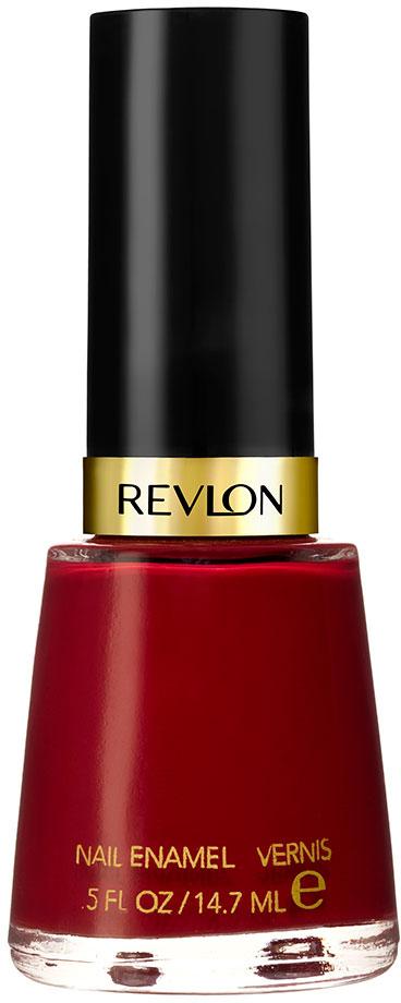 Revlon Лак для Ногтей Core Nail Enamel Raven red 721, 14,7 мл revlon nail enamel лак для ногтей raven red