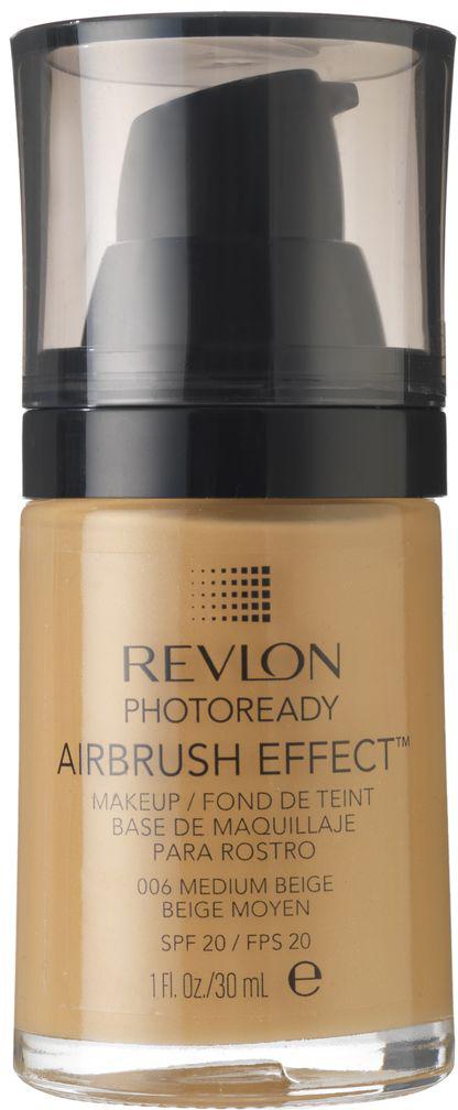 Revlon Тональный Крем Photoready Airbrush Effect Makeup Medium beige 006 30 мл