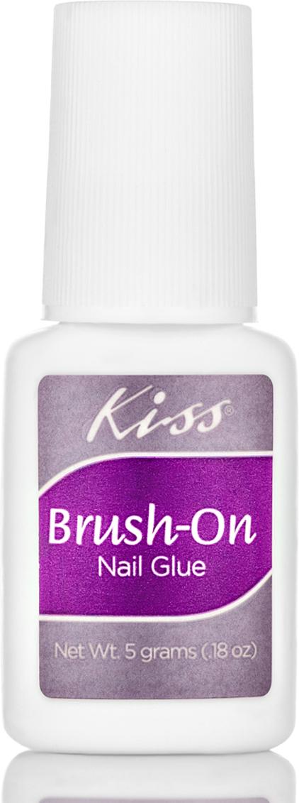 цена на Kiss Клей для ногтей c кисточкой Kiss Brush-on Nail Glue DGBGL02, 5 гр
