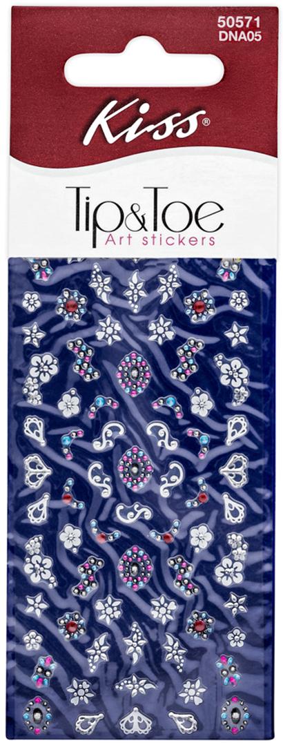 цена на Kiss Набор стикеров для ногтей Nail Art Stickers Melon DNA05