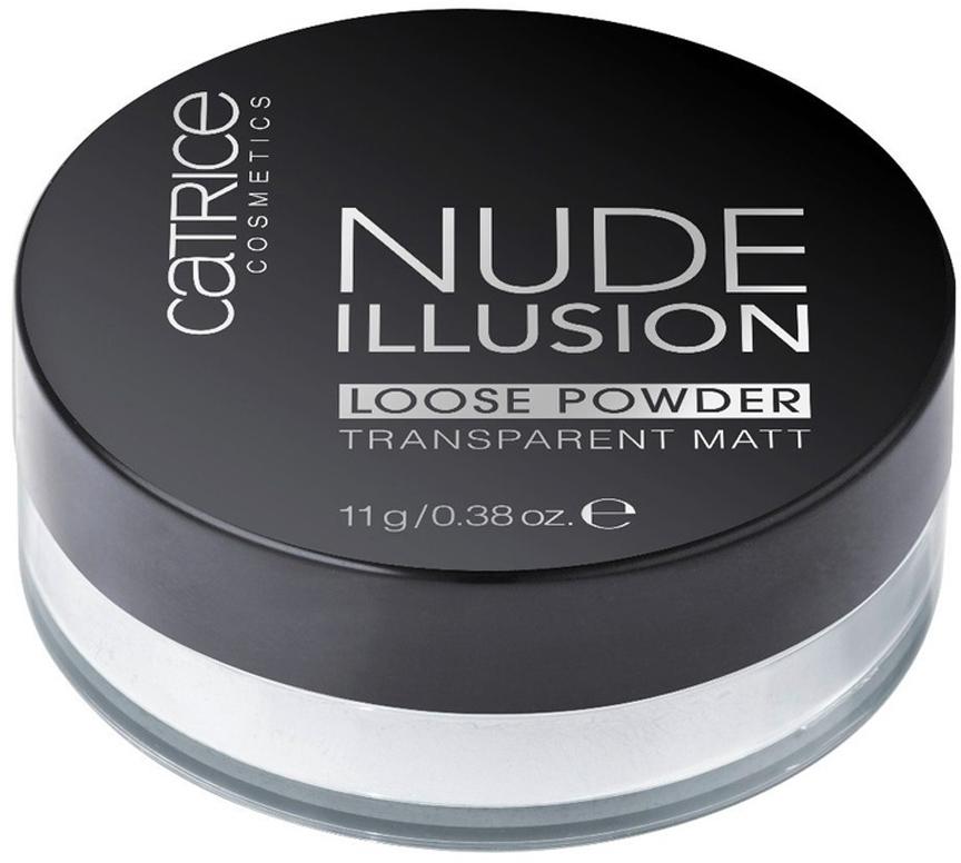 Catrice Рассыпчатая пудра Nude Illusion Loose Powder, 11 г мматирующая прозрачная пудра nude illusion loose powder catrice лицо