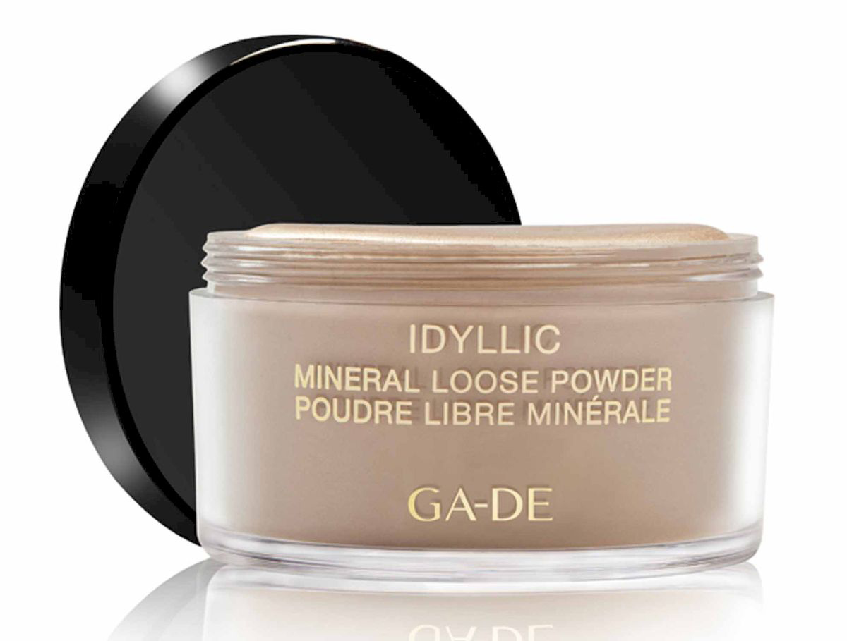 GA-DE Рассыпчатая пудра Idyllic Mineral, тон №100, 25 г пудра для проблемной кожи essence