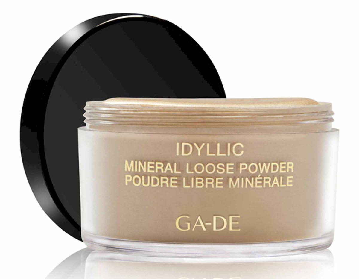 GA-DE Рассыпчатая пудра Idyllic Mineral, тон №101, 25 г пудра для проблемной кожи essence