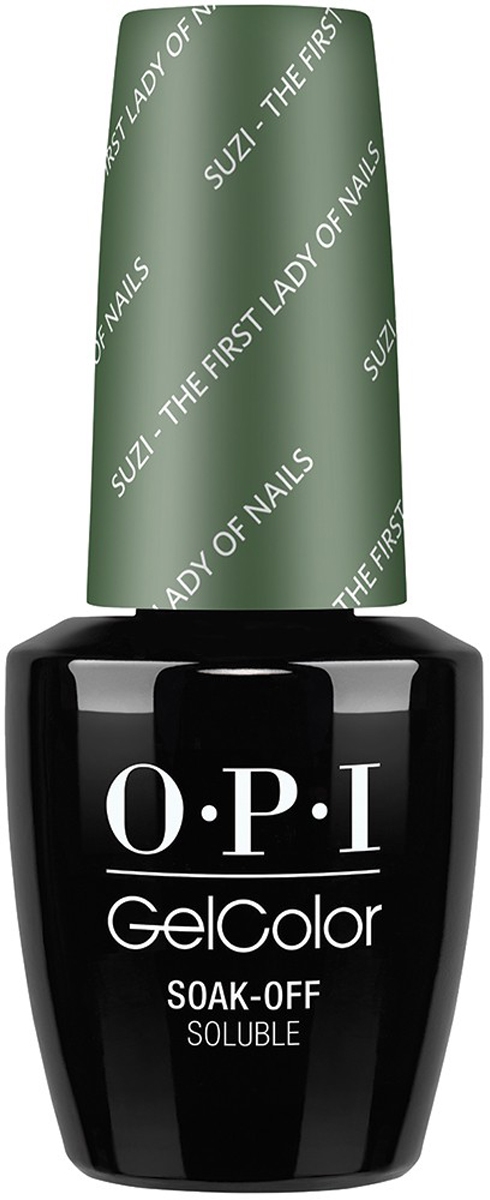 OPI Гель-лак GelColor Suzi The First Lady Of Nails, 15 мл opi набор лаков measure up to color