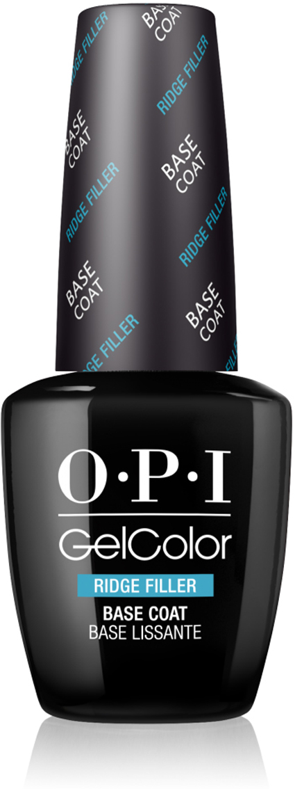 OPI Выравнивающее базовое покрытие GelColor Ridge Filler Base Coat OPI, 15 мл цена