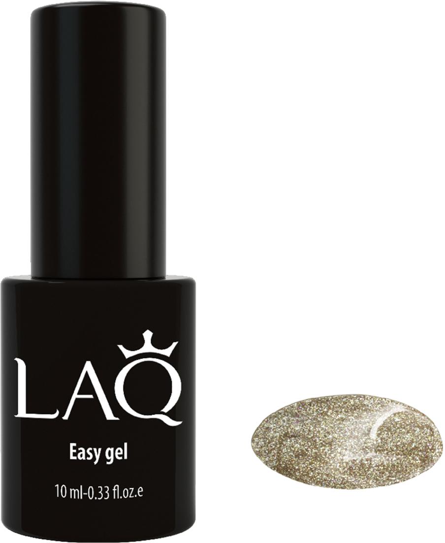 LAQ Гель-лак Easy Gel золотой ,10 мл laq гель лак легкий гель easy gel 10 мл 50 оттенков 15005 easy gel легкий гель 10 мл