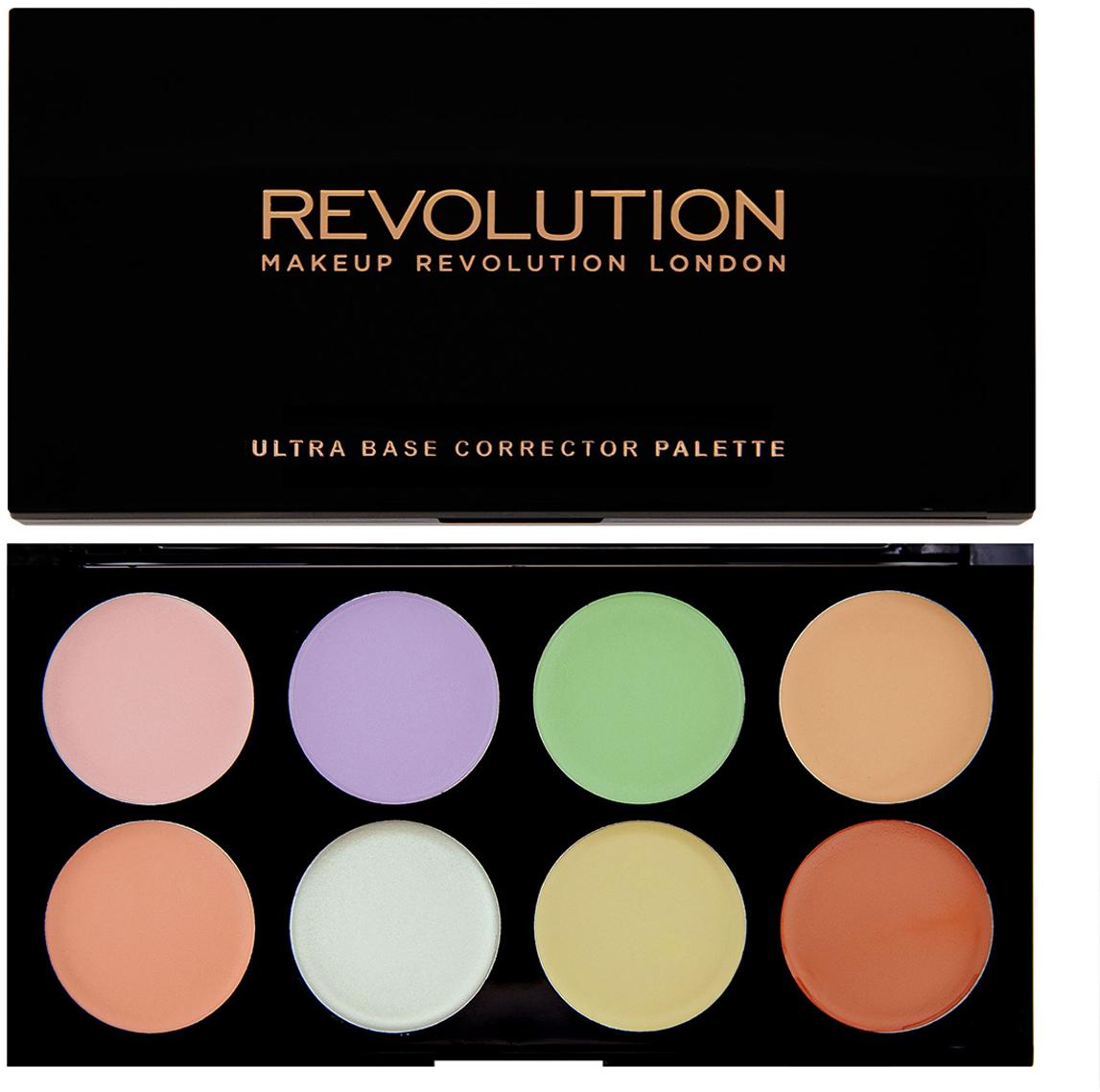 Makeup Revolution Набор цветных корректоров Ultra Base Corrector, 13 гр