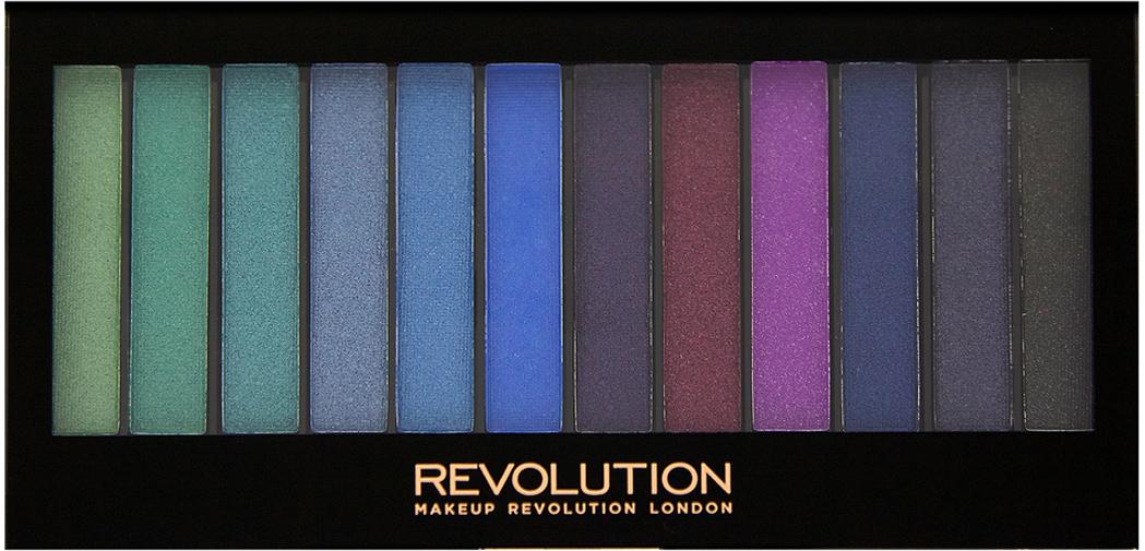 Makeup Revolution Набор теней Redemption Palette, Mermaids vs Unicorns, яркая, 14 гр makeup revolution набор из 30 теней 30 eyeshadow palette fortune favours the brave