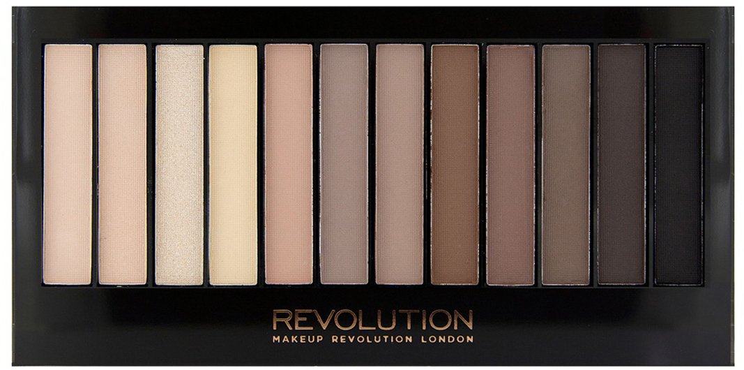 цена на Makeup Revolution Набор теней Redemption Palette, Iconic Elements, нюдовая, 14 гр
