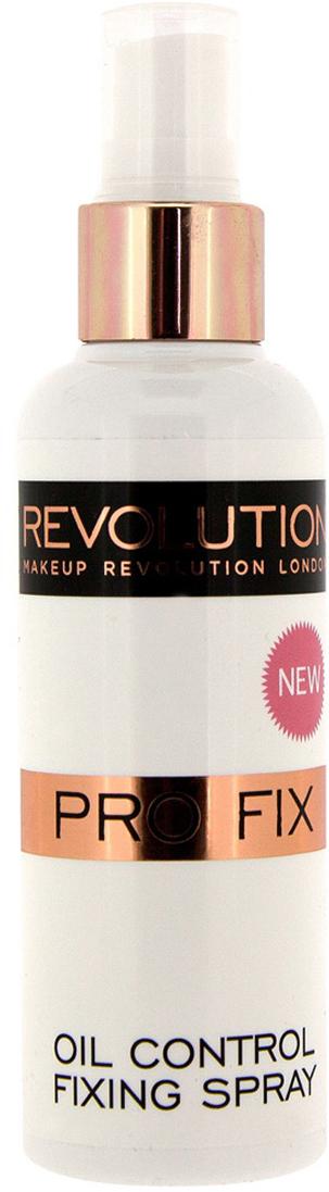 Фото - Makeup Revolution Спрей для фиксации макияжа Oil Control Fixing Spray, 100 мл estee lauder refresh perfecting makeup mist спрей для фиксации макияжа refresh perfecting makeup mist спрей для фиксации макияжа